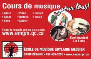 École de musique Guylaine Messier