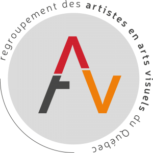 Regroupement des artistes en arts visuels