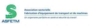 ASFETM Association sectorielle Fabrication d'équipement de transport et de machines